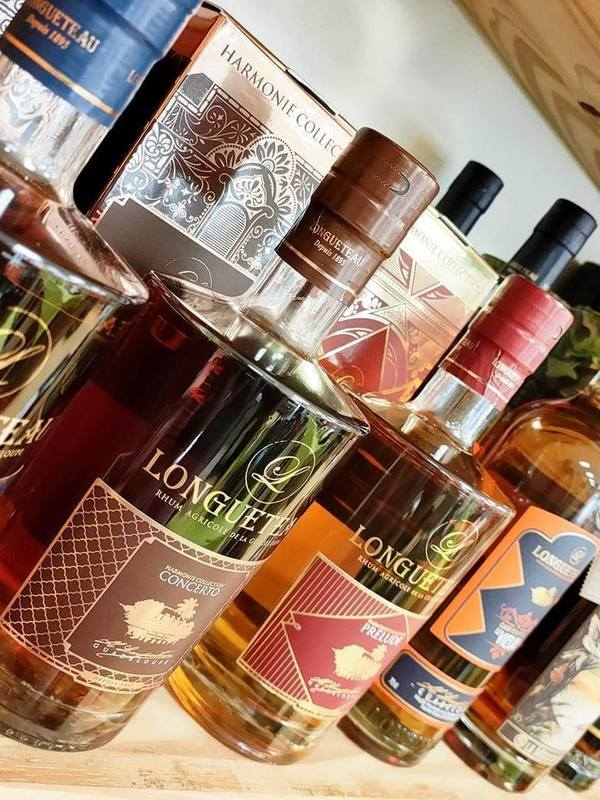 Spiritueux Rhum et Whisky